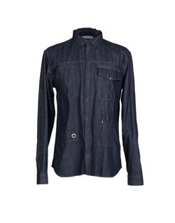 Pierre Balmain  - Denim Button Down Shirt