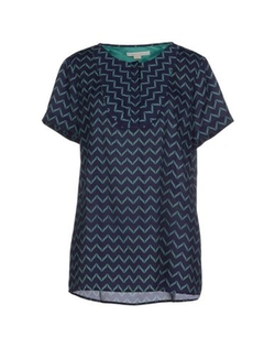 Cooper & Ella - Pattern Short Sleeve Blouse