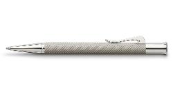 Graf Von Faber-Castell - Guilloche Cisele Grey Ballpoint Pen