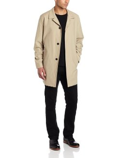 Kenneth Cole New York  - Single Breasted Car Coat