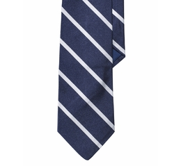 Ralph Lauren - Striped Silk Repp Tie