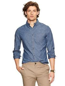 Gap - Clean chambray shirt