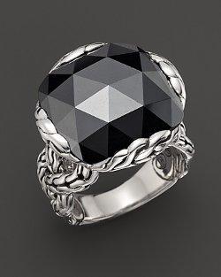 John Hardy  - Batu Classic Chain Silver Large Braided Ring