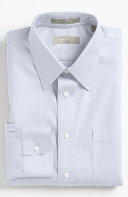Nordstrom - Fit Herringbone Dress Shirt