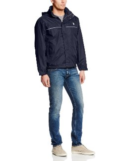 U.S. Polo Assn. - Windbreaker with Piping Jacket
