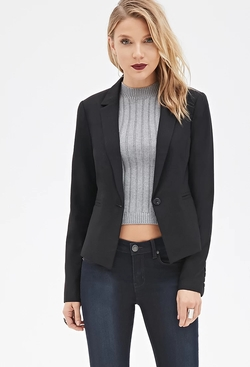 Forever 21 - Contemporary Classic One-Button Blazer