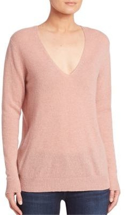 Theory - Adrianna Cashmere V-Neck Sweater