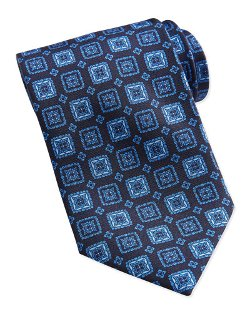 Brioni - Square Medallion Silk Tie
