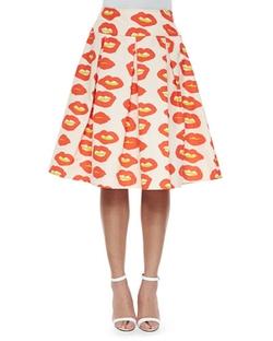Essentiel Antwerp   - Blow Up Lips Japon Pleated Skirt