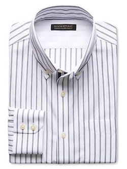 Banana Replublic - Tailored Bold Stripe Shirt