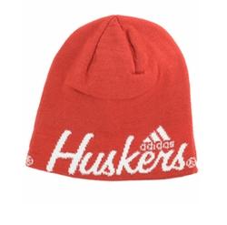 Adidas - Nebraska Cornhuskers Script Knit Hat