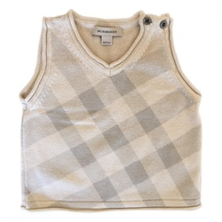 Burberry - Beige Cotton Knitwear