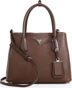 Prada - Daino Small Double Bag