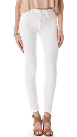Mother - High Waist Looker Skinny Jeans
