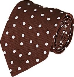 Cifonelli - Polka Dot Twill Necktie