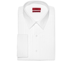 Alfani RED  - Fitted French Cuff Tuxedo Performance Shirt