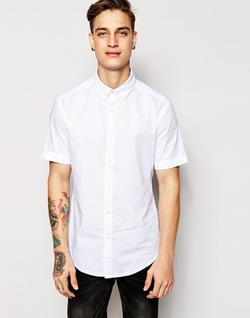 Asos - Esprit Short Sleeve Oxford