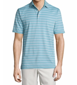 Peter Millar - Tradeshow Striped Short-Sleeve Jersey Polo Shirt