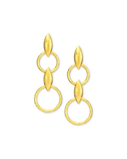 Gurhan - Wheatla Collection Double-Drop Earrings