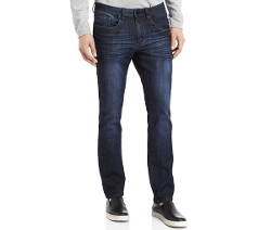 Kenneth Cole New York  - Dark Wash Straight-Fit Jeans