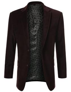 Mondaysuit - Velvet Blazer Suit Jacket