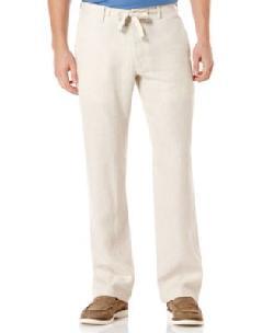 Tasso Elba   - Linen Drawstring Pants