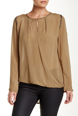 Nue 19.04  - Boris Long Sleeve Silk Blouse
