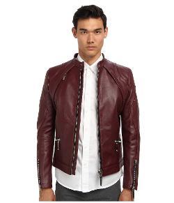 Philipp Plein  - Force Leather Jacket