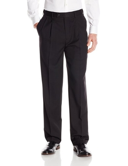 Louis Raphael - Straight Fit Pleated Dress Pants