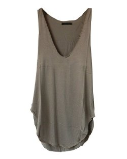 Trurendi  - Sleeveless V-Neck Candy Vest Loose Tank Tops T-shirt
