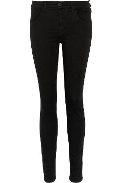 J BRAND  - Maria Power Stretch high-rise skinny jeans