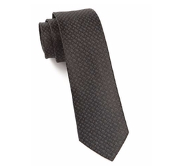 The Tie Bar  - Speckled Woven Silk Tie