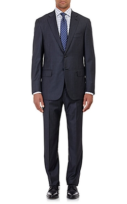 Isaia  - Super 170s Sirio Two-Button Suit