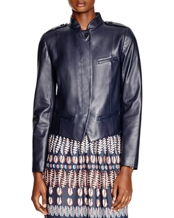 Tory Burch  - Leather Moto Jacket