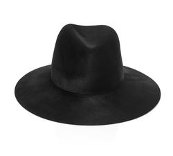 Janessa Leone  - Wool-Felt Fedora Hat