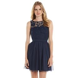 LC Lauren Conrad - Lace Fit & Flare Dress - Women