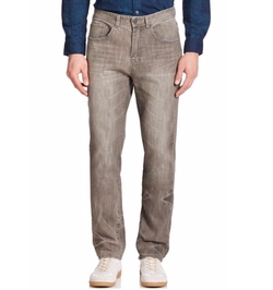Madison Supply - Slim-Straight Five-Pocket Jeans