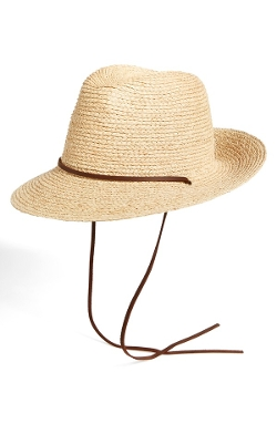Brixton - Raffia Fedora Hat