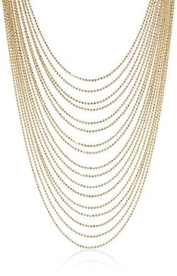 Signature 1928  - 1928 Signature Multi-Chain Layered Necklace