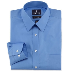 Stafford - Travel Easy-Care Broadcloth Dress Shirt