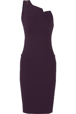 Roland Mouret  - One-Shoulder Stretch-Crepe Dress