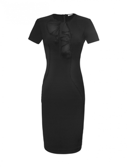 Sophie Theallet  - Stretch Ruffle Bib Dress