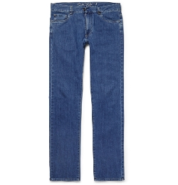 Canali - Regular-Fit Stretch-Denim Jeans