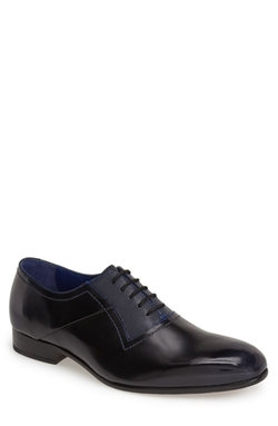 Ted Baker London - Leather Plain Toe Oxford Shoes