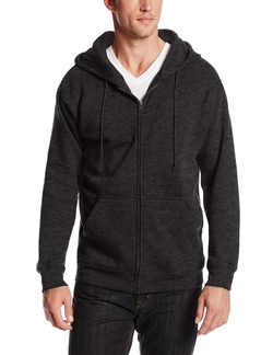 MJ Soffe -  Fleece Full-Zip Hooded Sweatshirt