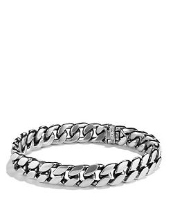 David Yurman  - Curb Chain Narrow Bracelet