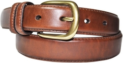 Danbury  - Padded Leather Double Loop Belt