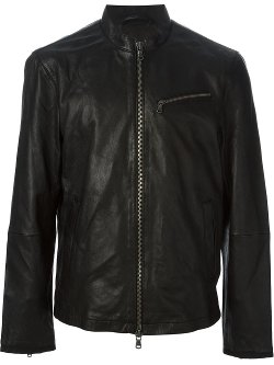 John Varvatos  - Banded Collar Jacket