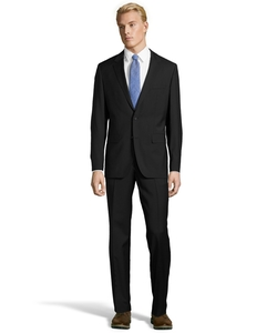 Boss - Wool Two-Button Suit