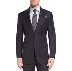 Ermenegildo Zegna - Herringbone Peak-Lapel Two-Piece Suit